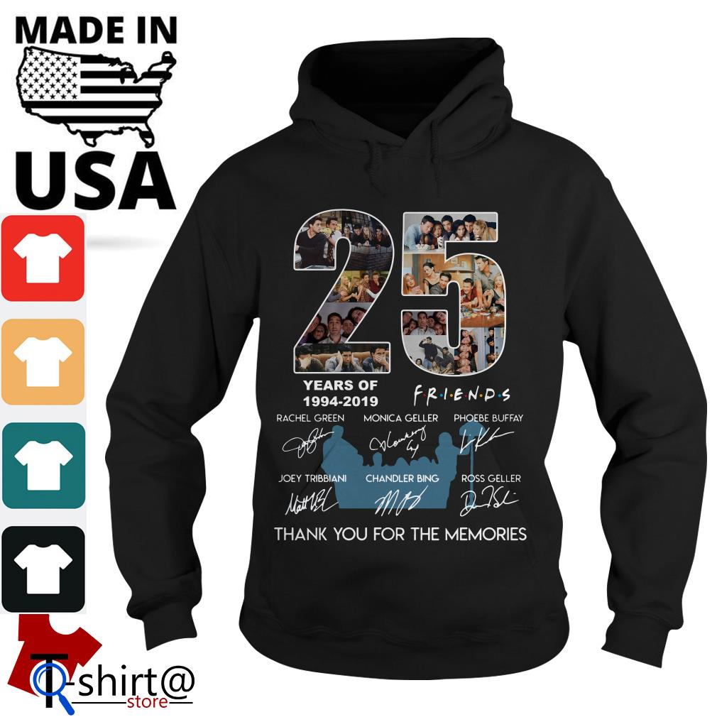 25 years of Friends 1994-2019 thank you for the memories Hoodie