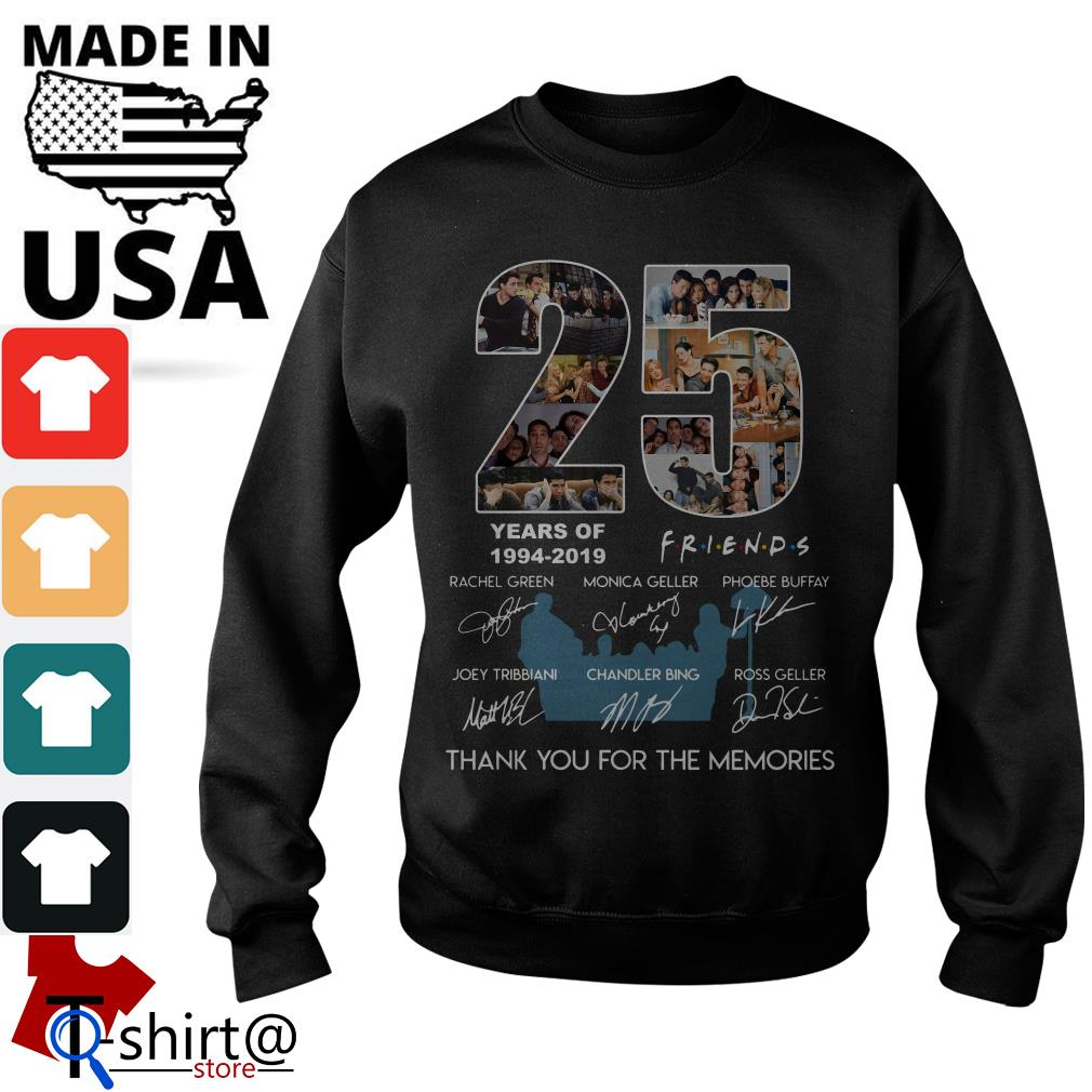 25 years of Friends 1994-2019 thank you for the memories Sweater