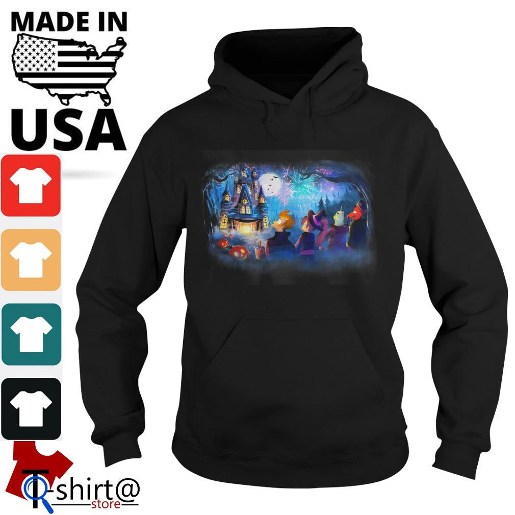 Futurama Not so scary Halloween fireworks party Hoodie