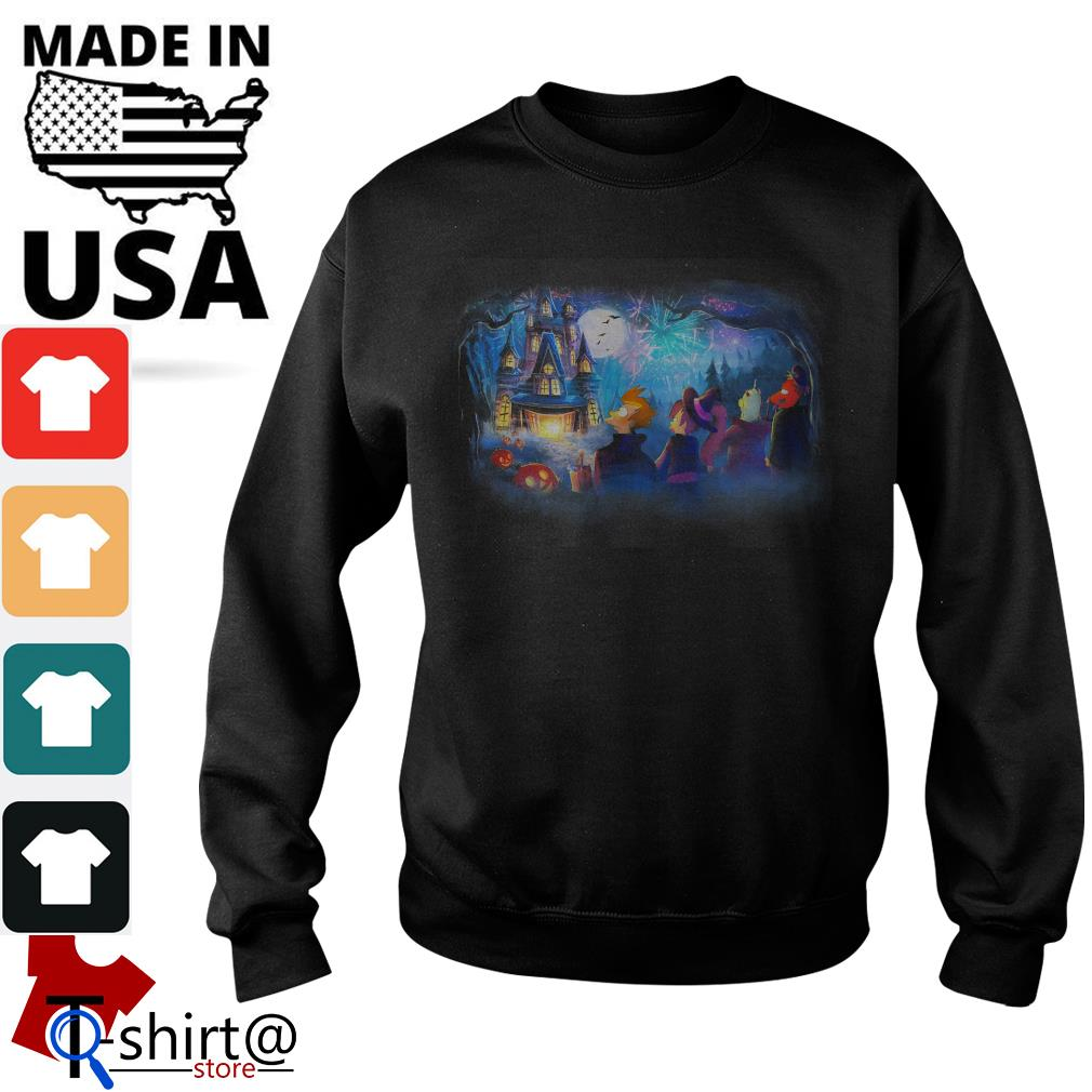 Futurama Not so scary Halloween fireworks party Sweater