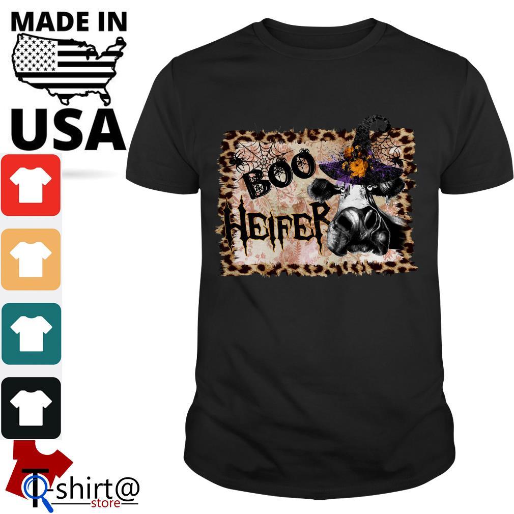 Halloween Cow Boo Heifer shirt