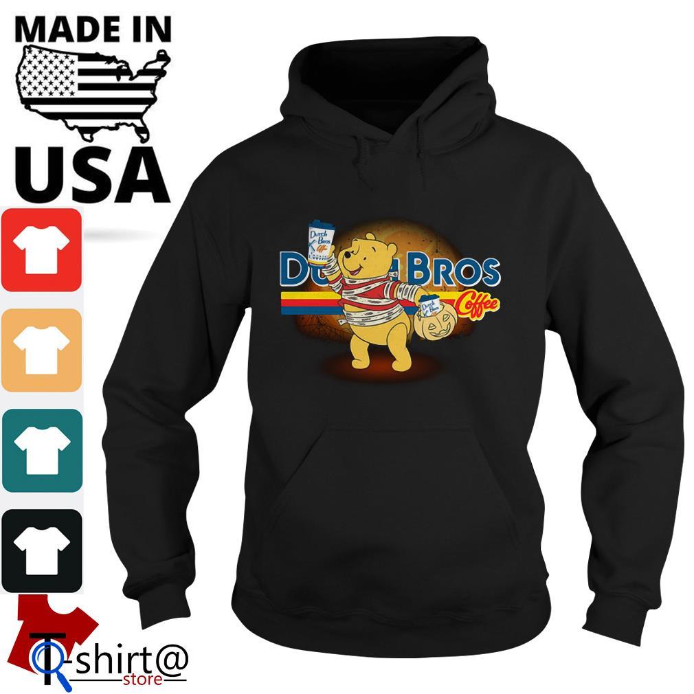 Halloween Dutch Bros Coffee Winnie The Pooh version Hoodie