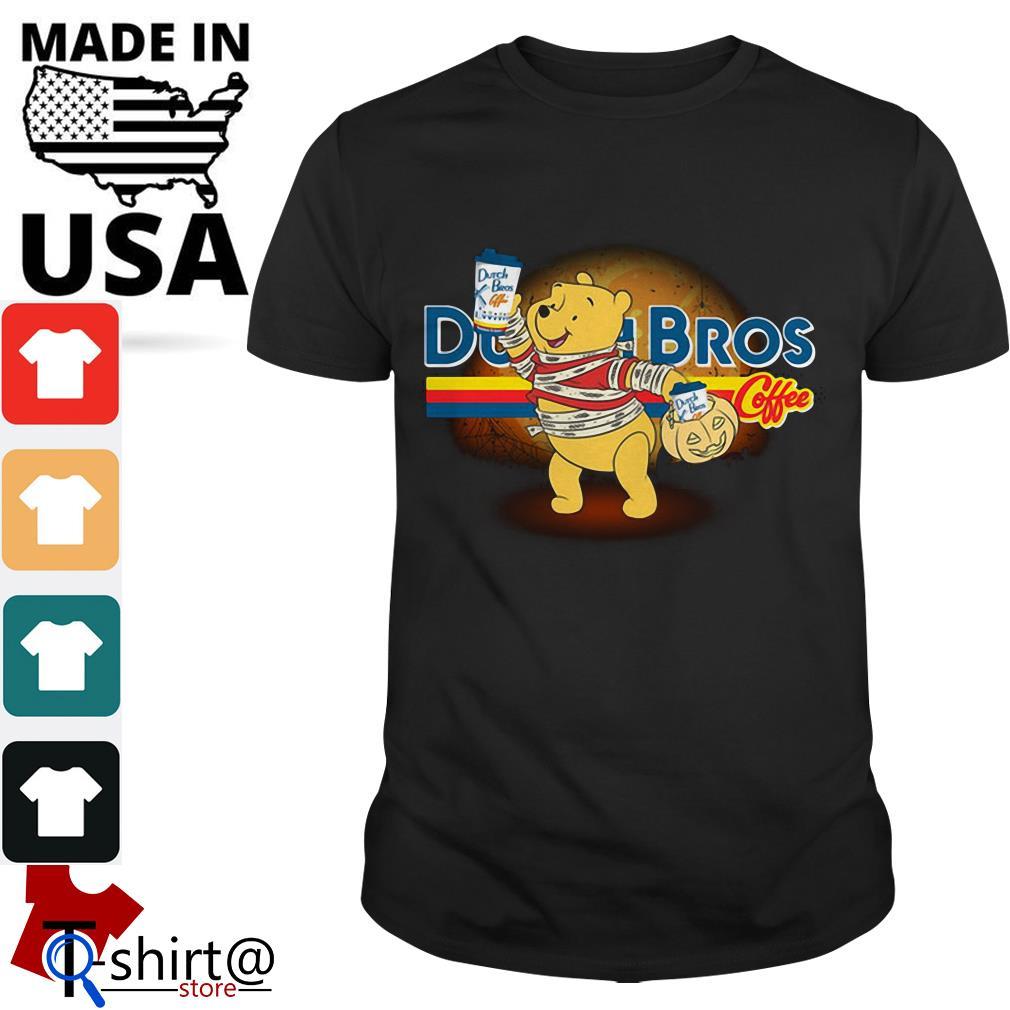 Halloween Dutch Bros Coffee Winnie The Pooh version shirt