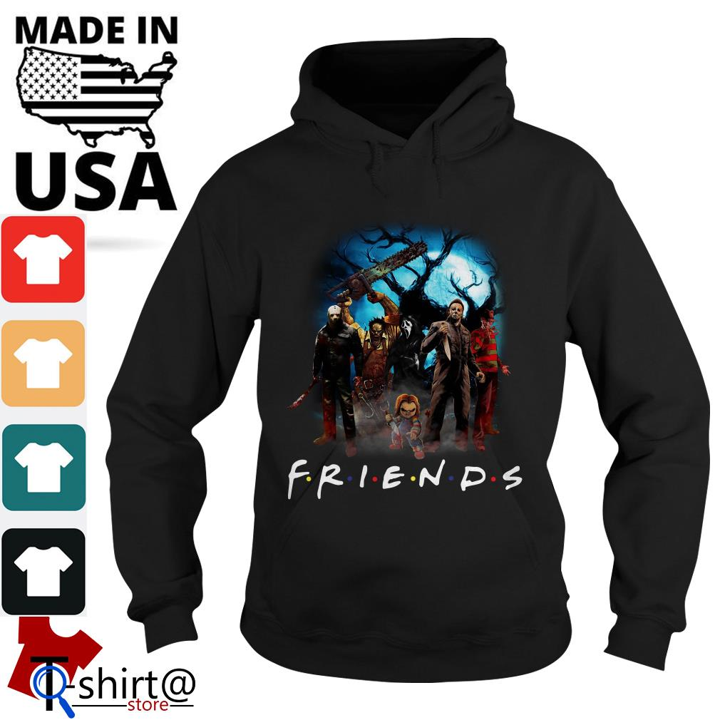 Horror character Friends TV show Hoodie