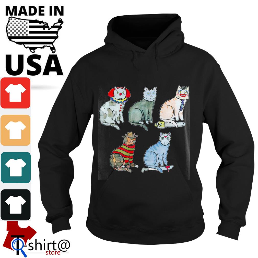 Horror Character Cat Hoodie