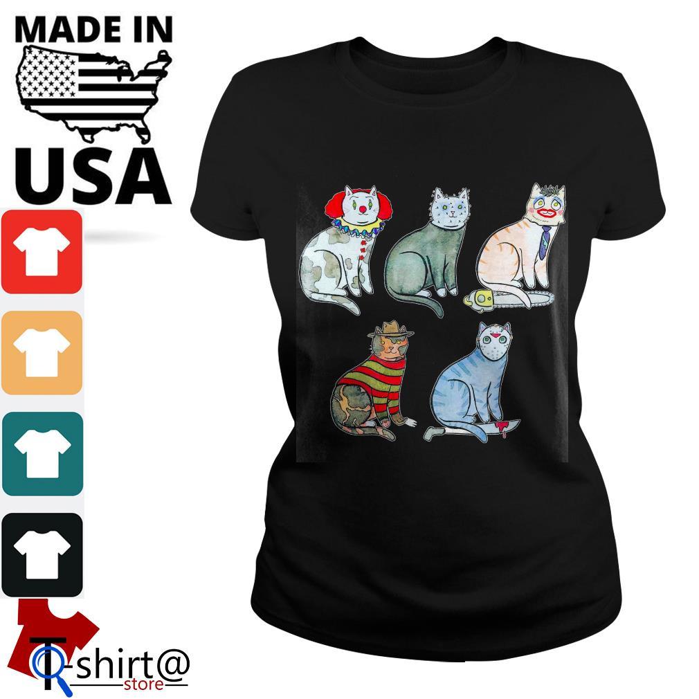 Horror Character Cat Ladies tee