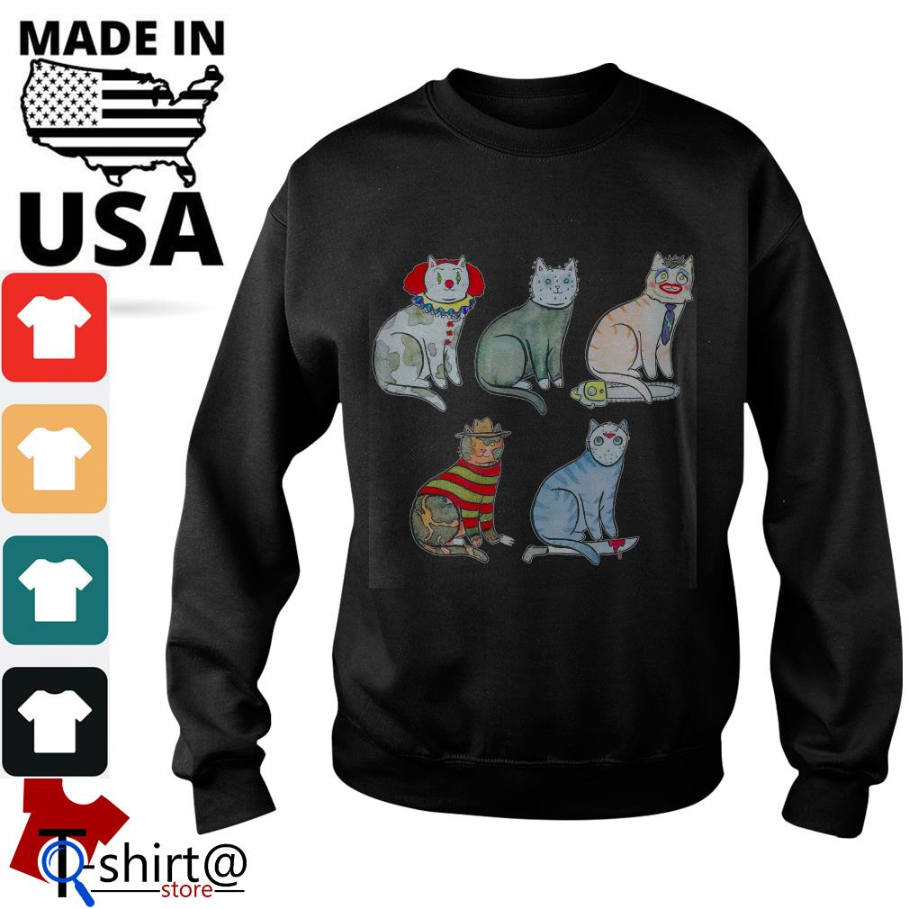 Horror Character Cat Sweater