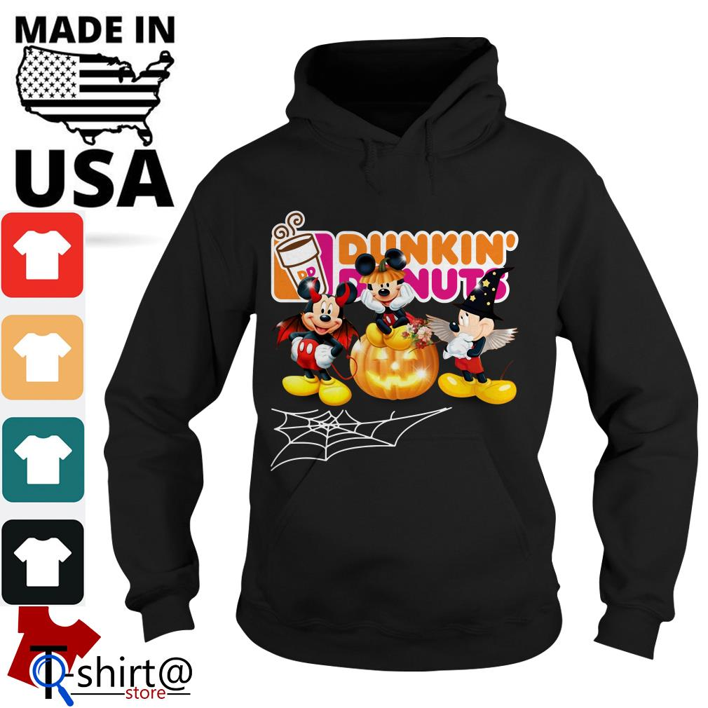 Mouse Mickey Dunkin' Donuts Halloween Hoodie