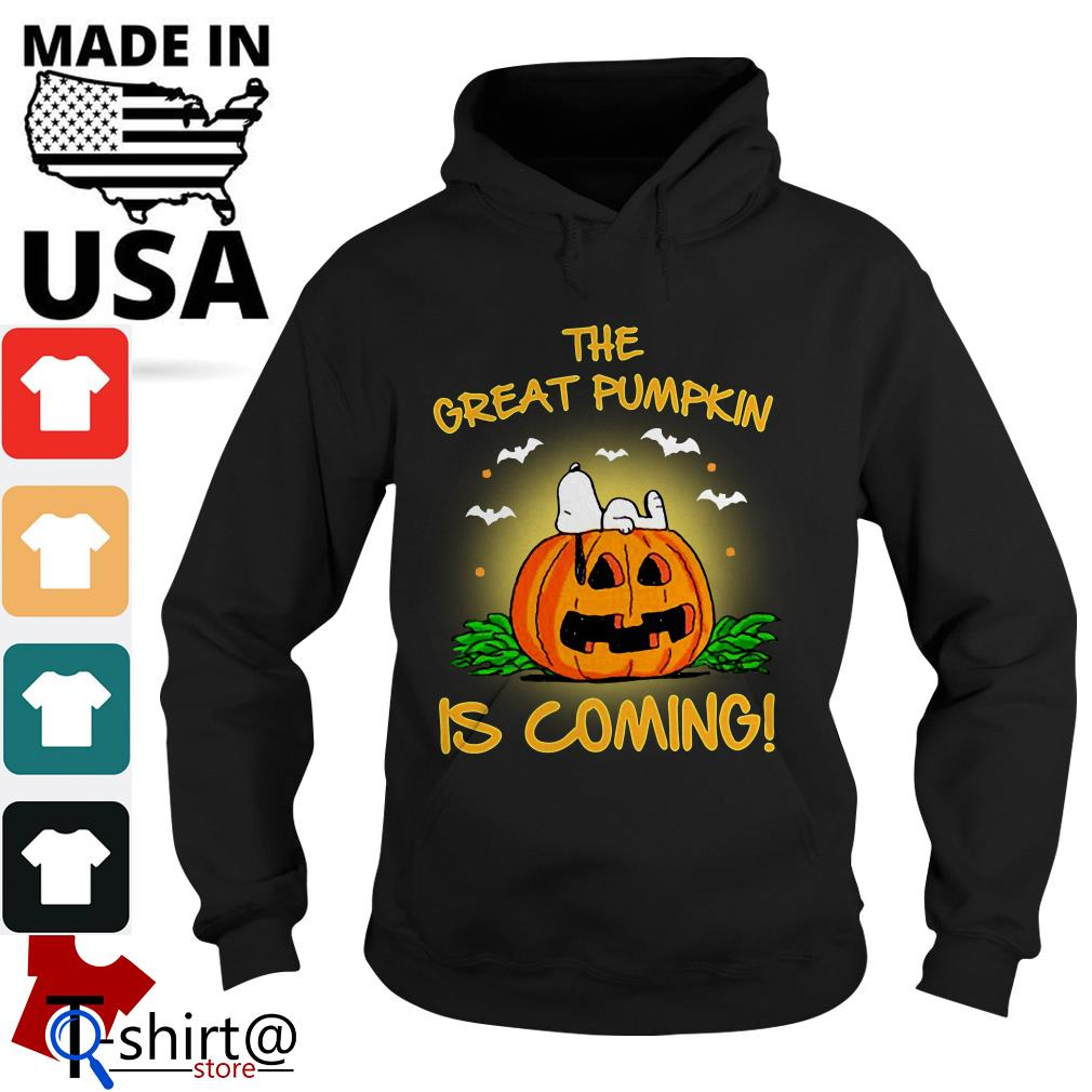 The Great Pumpkin is coming Hoodie