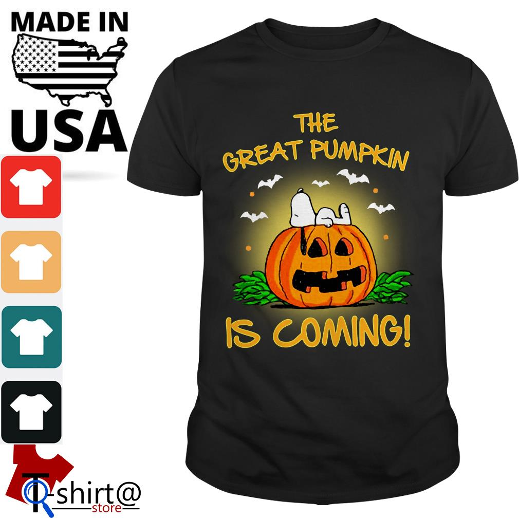The Great Pumpkin is coming shirt