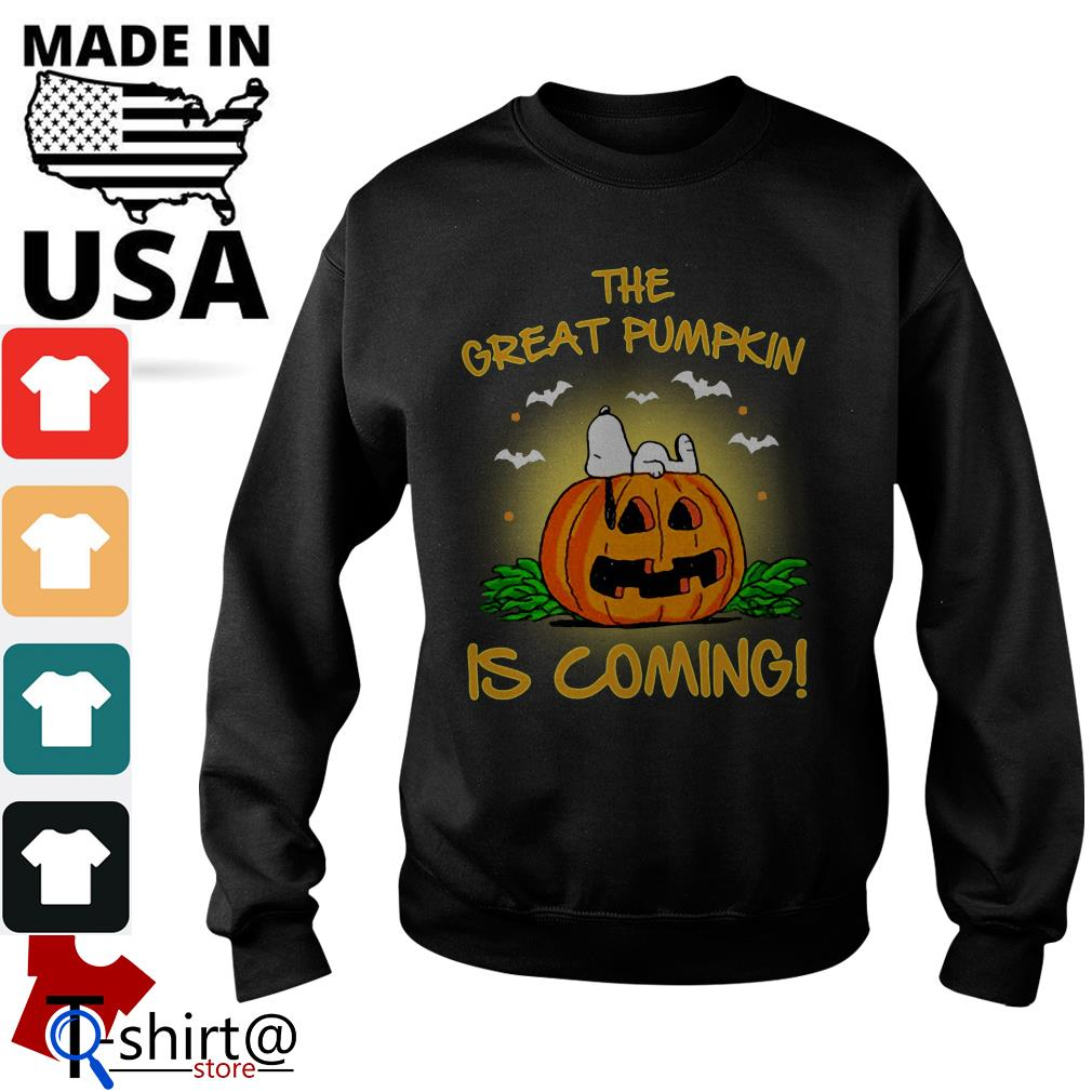 The Great Pumpkin is coming Sweater