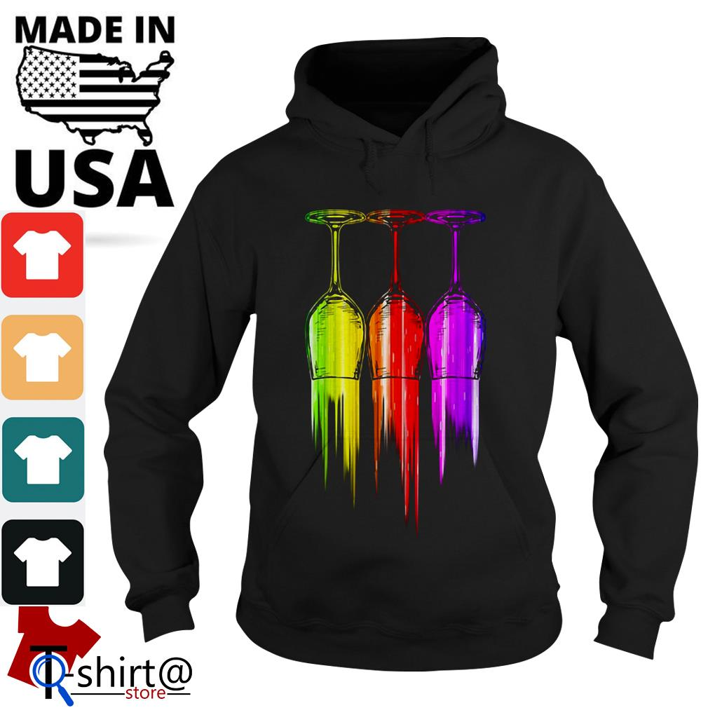 Three wine color Halloween Hoodie