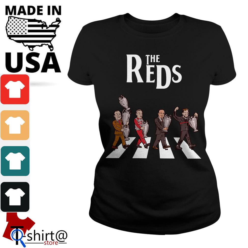 Liverpool the Reds Abbey Road Ladies tee