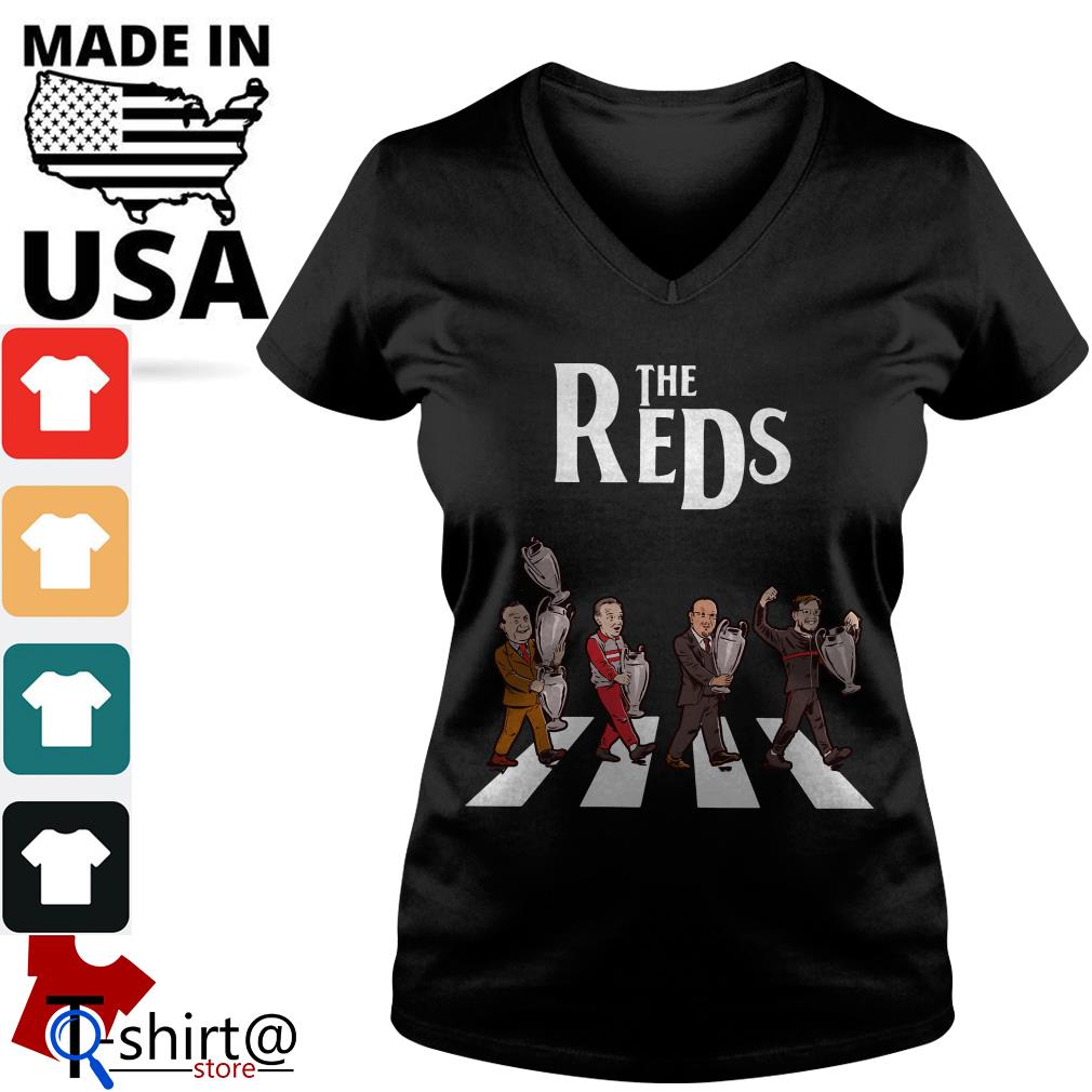 Liverpool the Reds Abbey Road V-neck t-shirt