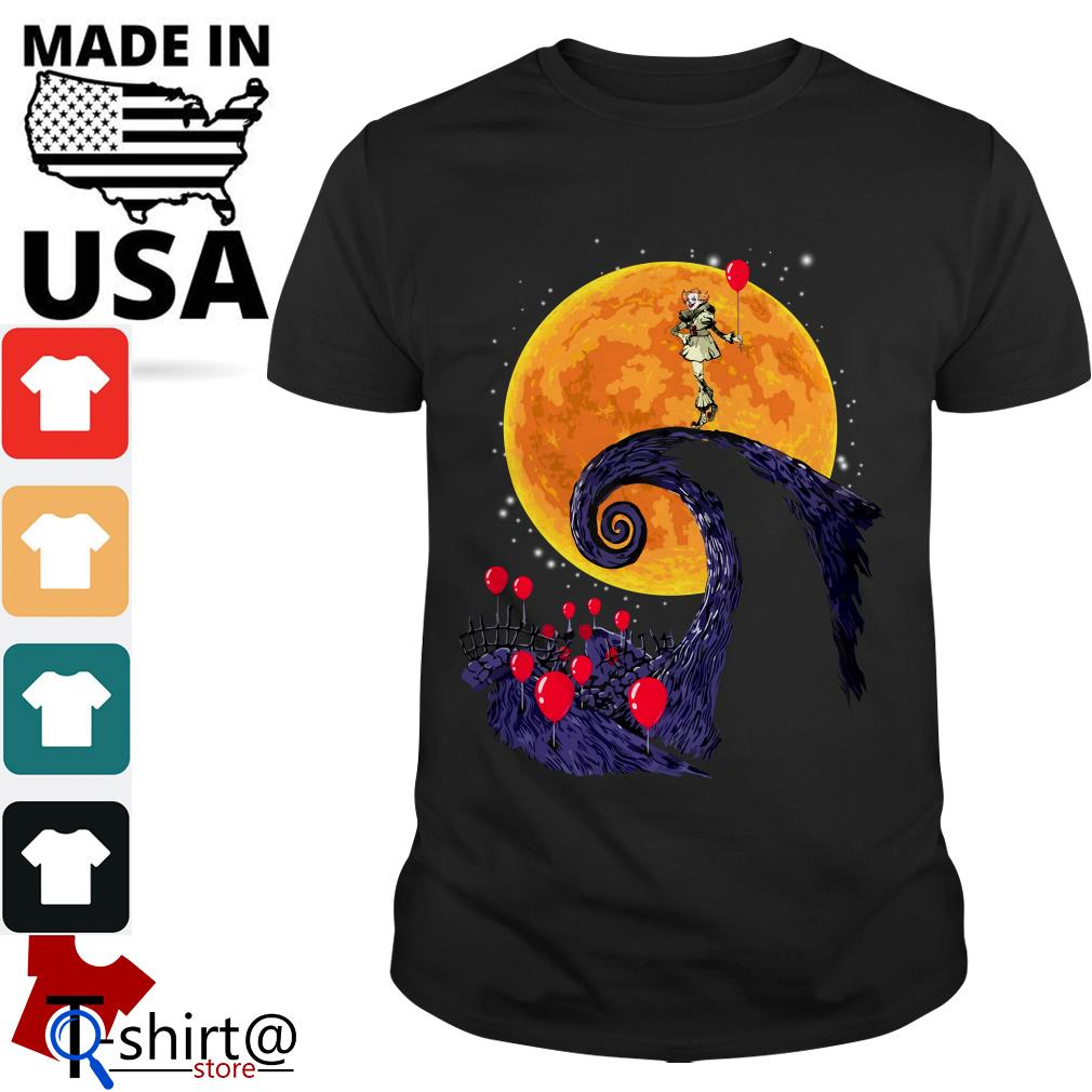 Pennywise the nightmare before christmas shirt