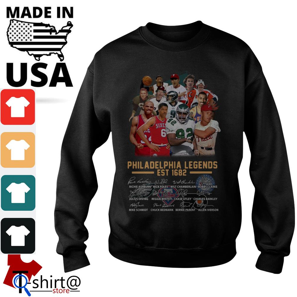 Philadelphia legends est 1682 signature Sweater