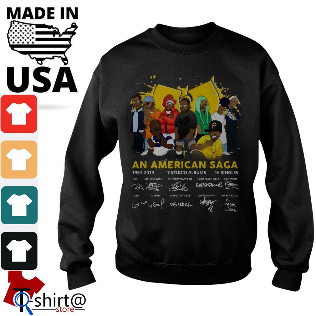 Wu Tang Clan An American Saga 1992-2019 Signatures Sweater