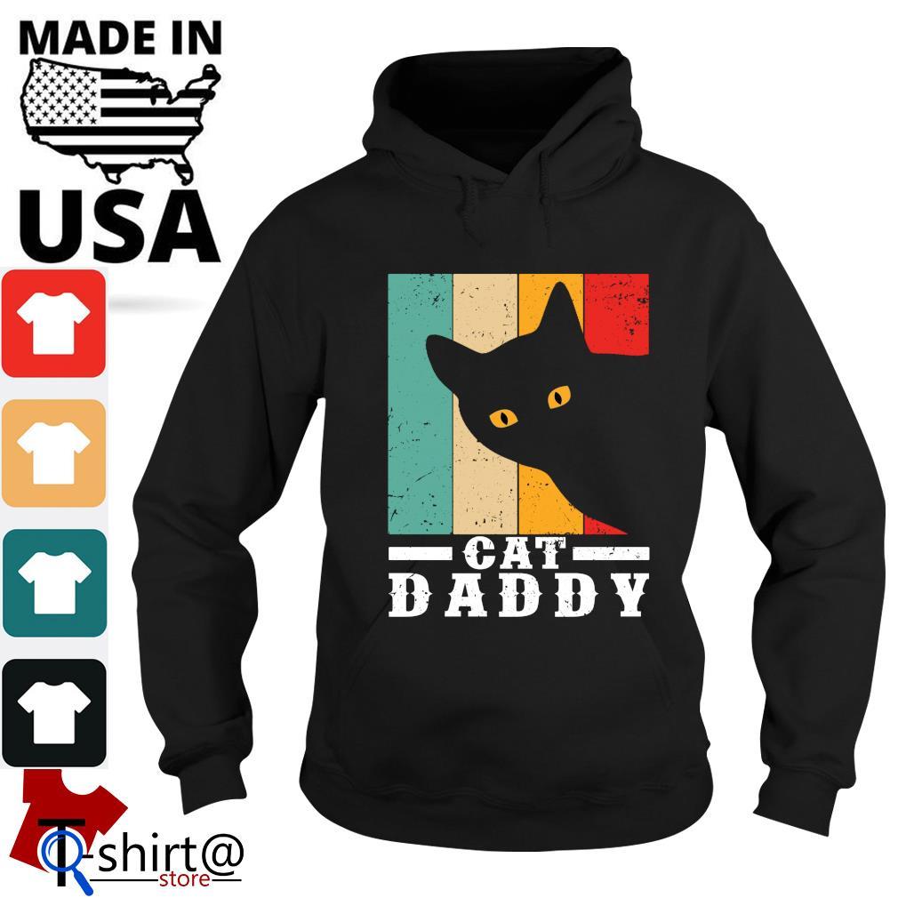 Black cat daddy vintage s hoodie