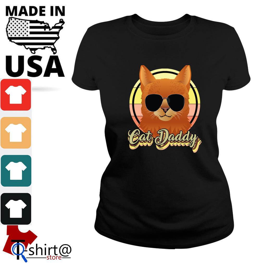 Cat daddy vintage s ladies-tee