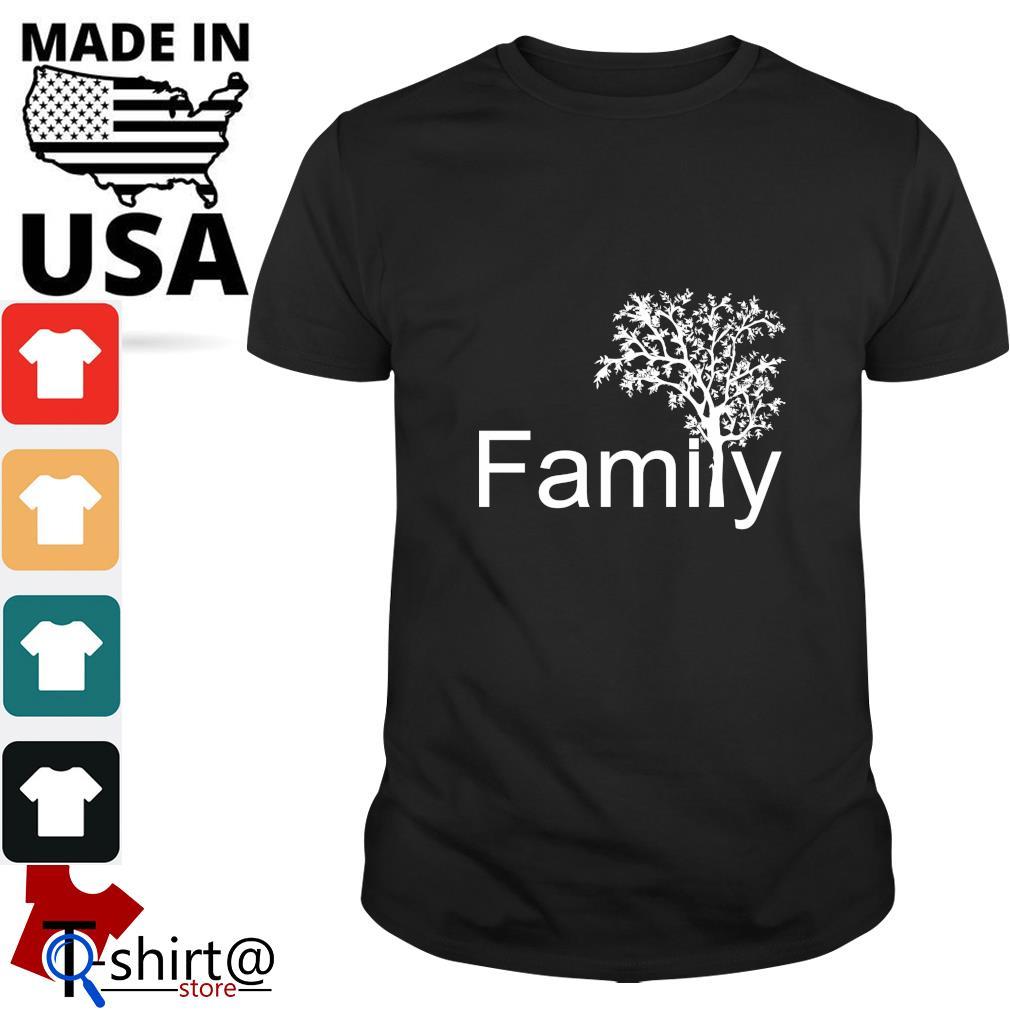 Family tree genealogy shirt
