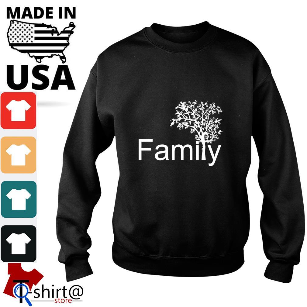 Family tree genealogy s sweater