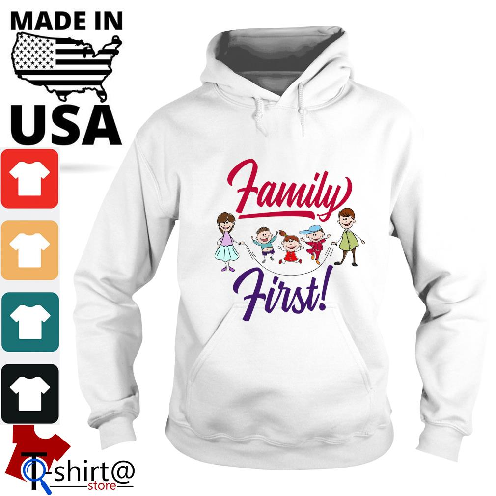 Mom and dad family first s hoodie