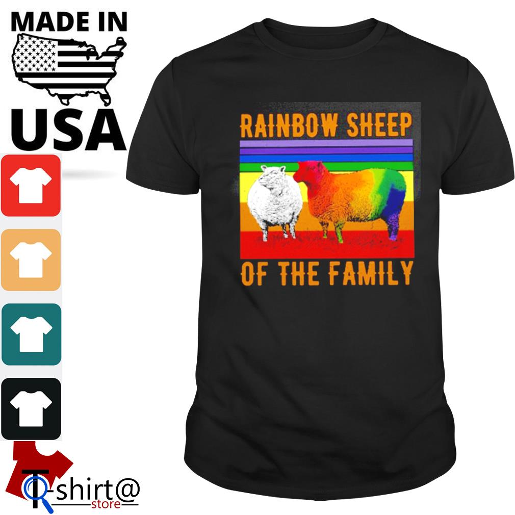 Rainbow sheep of the family LGBT shirt